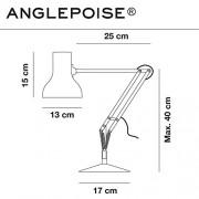 Anglepoise Type 75 Mini Desk Lamp, Slate Grey Shade