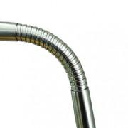 Daylight Company D35107 5 Watt LED Slimline Table Lamp, Brushed Chrome