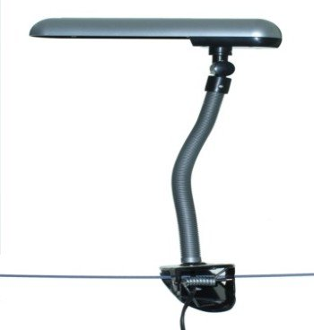The Rosie Clip On Low Energy Daylight Clip On Lamp, Now With Detachable Stand.