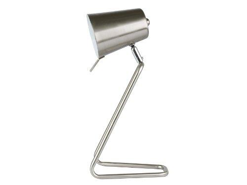 Leitmotiv Table Lamp Z Metal Satin Finish