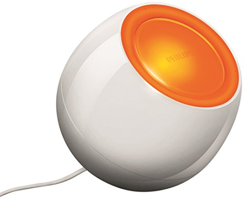 Philips LivingColors Mini Colour Changing Mood Light White (Integrated 1 x 5 Watts LED Bulb)